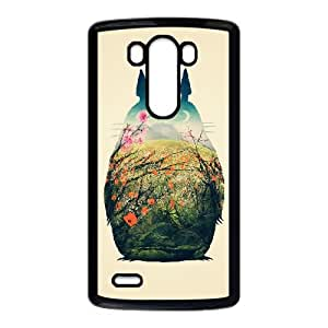 My Neighbour Totoro LG G3 Cell Phone Case Black Protect your phone BVS_678357