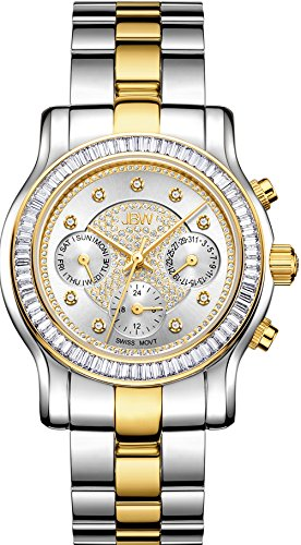 JBW Women's J6330F Laurel 0.09 ctw Stainless Steel Diamond Watch