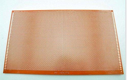 BLS 2Pcs 180MMX300MM Single Sided Prototype Solderable Paper Universal PCB (300 Mm Single)