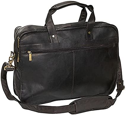 Cafe David King /& Co One Size Expandable Laptop Briefcase