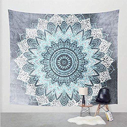 2017 Popular Boho Style Home Living Tapestry Beautiful Living Room/Bedroom Decor Multi Functional Hanging Blanket (51X59Inch, Flower5)