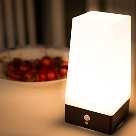 battery powered indoor lighting. NiceEshop(TM) Wireless Motion Sensor LED Table Lamp, Battery Powered Indoor Retro Night Lighting