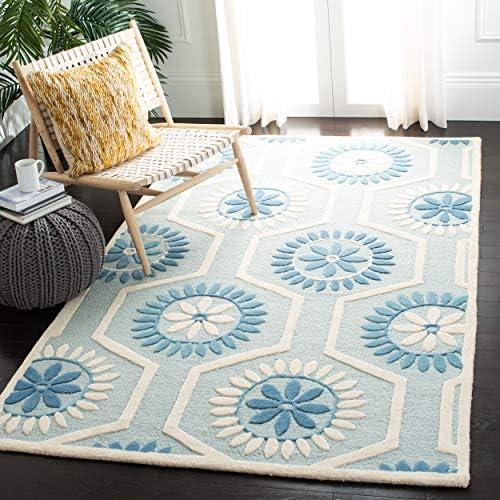 Safavieh Cambridge Collection CAM715B Handmade Floral Premium Wool Area Rug
