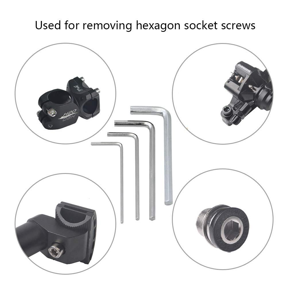 14 St/ück Reinigungsset f/ür 3D Drucker Inklusive 4 St/ück Sechskantschl/üssel und 10 St/ück 0,4 mm Nadeln f/ür Bohrer D/üse Reinigungswerkzeug