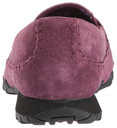 Skechers Womens Bikers Lane Penny Loafer Burgundy