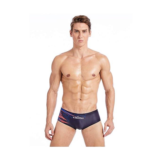 Amazon.com: SABOLAY Bañador para hombre, bañador para hombre ...