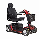 Pride Mobility - Victory Sport - Full-Sized Scooter - 4-Wheel - Candy Apple Red - PHILLIPS POWER PACKAGE TM - TO $500 VALUE