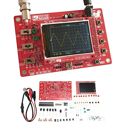 - Oscilloscope Kit, KKmoon DSO138 2.4