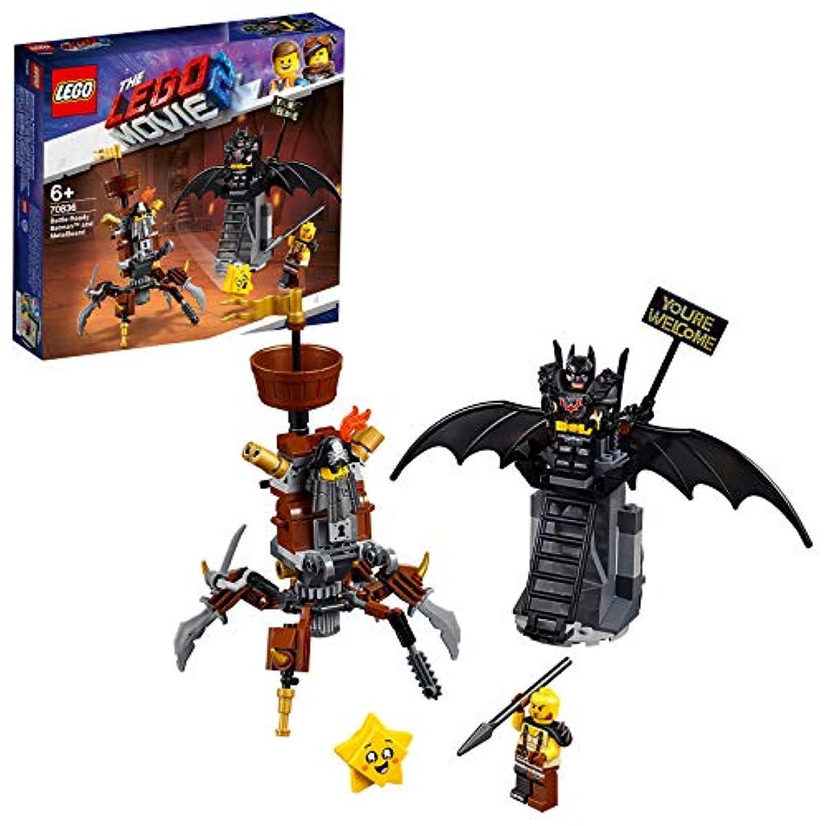 [해외] 레고(LEGO) 레고 무비 배트맨과 로보 수염의 약속(appoinment) 카 re푸스부루구의 구출 70836 블럭 장난감 소녀 사내 아이