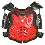 Fly Racing 2020 Youth Convertible II Roost Deflector (RED)