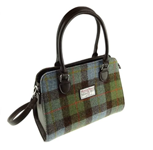 2ab925b311 Glen Appin Harris Tweed Tote Handbag – LB1227 Findhorn (Colour 15 Gunn  Tartan)
