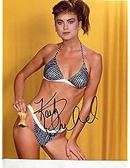 "KATHY IRELAND classic Sports Illustrated very sexy young bikini signed 8x10"" photo / UACC Registered Dealer # 212"
