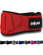 Roar® Gym Lumbar Belt, Gymriem, Gewichthefgordel, Powerlifting, Crossfit, Gewichtheffen, Bodybuilding, Gymgordel voor heren en dames, Halterriem.