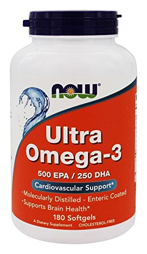 NOW Foods Ultra Omega 3 Softgels product image