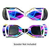 GameXcel Skin for Self-Balancing Electric Scooter - Sticker for Skate Hover Board - Decal for Self Balance Mobility Longboard - Smart Protective Cover Vinyl Case for 2 Wheel Scooter Board