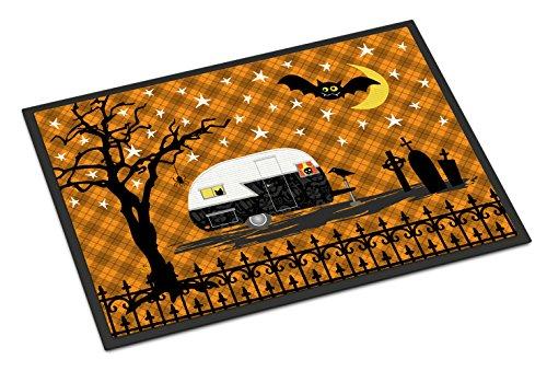 Caroline's Treasures Halloween Vintage Camper Doormat 18