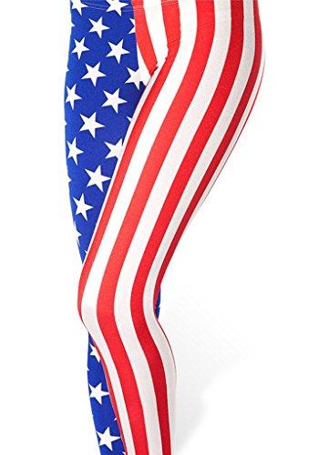 Roseate Digital Leggings Workout AMERICAN