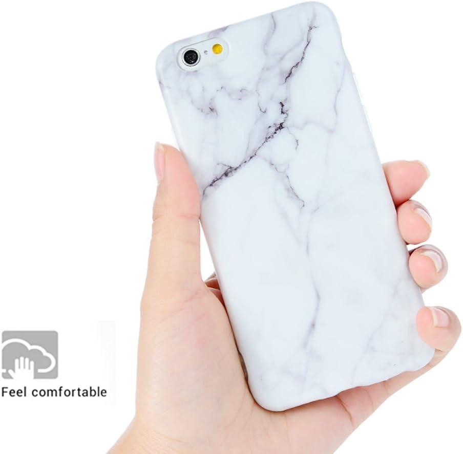 KASOS Marmo Cover iPhone 6s, Morbido Custodia iPhone 6 Silicone Gel Ultra Sottile Premium TPU Flessibile Case IMD Tecnologia di Disegno Marble, Grigio ...