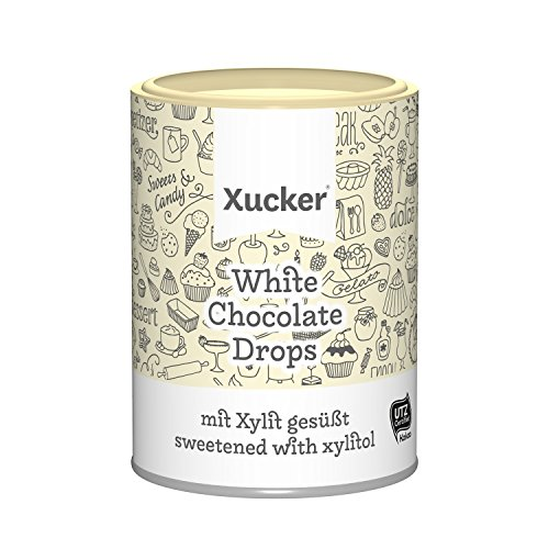Xucker - White Chocolate Drops 200g