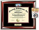 Diploma Frame Washington State University WSU Graduation Gift Idea Engraved Picture Frames Engraving Degree Certificate Holder Graduate Him Her Nursing Business Engineering Education School