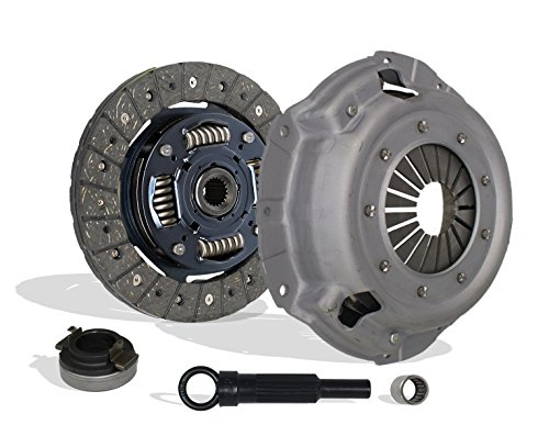 Clutch Kit Works With Ford Escort Mercury Tracer Trio Base LX 1991-1996 1.9L L4 GAS SOHC Naturally Aspirated