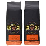 The Bean Coffee San Diego Coffee, Italian Roast, Whole Bean Roasted Coffee, 32 Oz, 2 Count, 2 lb