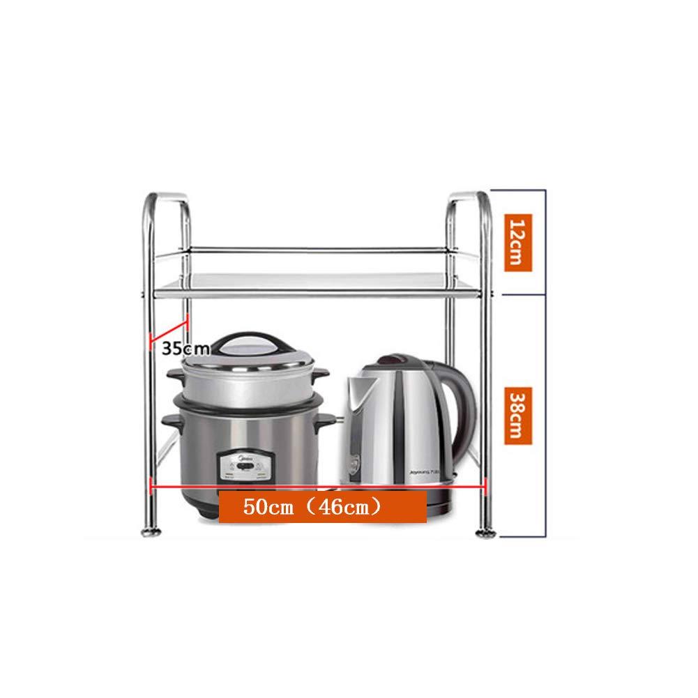 Estante de cocina para microondas y horno, acero inoxidable, para ...