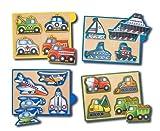 Vehicles Mini-Puzzle Pack