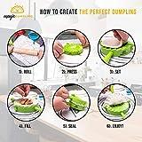 Magic Dumpling Maker Press Set of 4 Molds | BONUS
