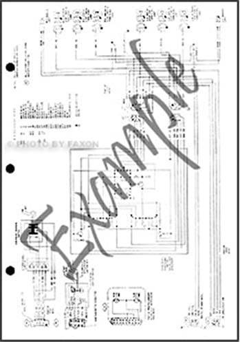 1994 ford bronco and pickup foldout wiring diagram original f150 Ford Bronco Wiring Diagram for 69