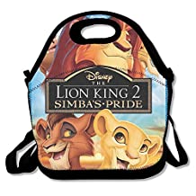 The Lion King Trilogy 1-3 Travel Tote Lunch Bag