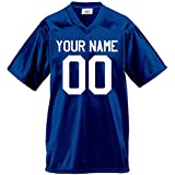 Custom Football Jersey for Youth and Adult you Design Online in Adult 3x-large in Royal Blue