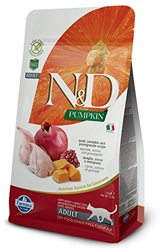 Farmina N&D Cat Dry Grain Free Pumpkin Quail 3.3 Pounds