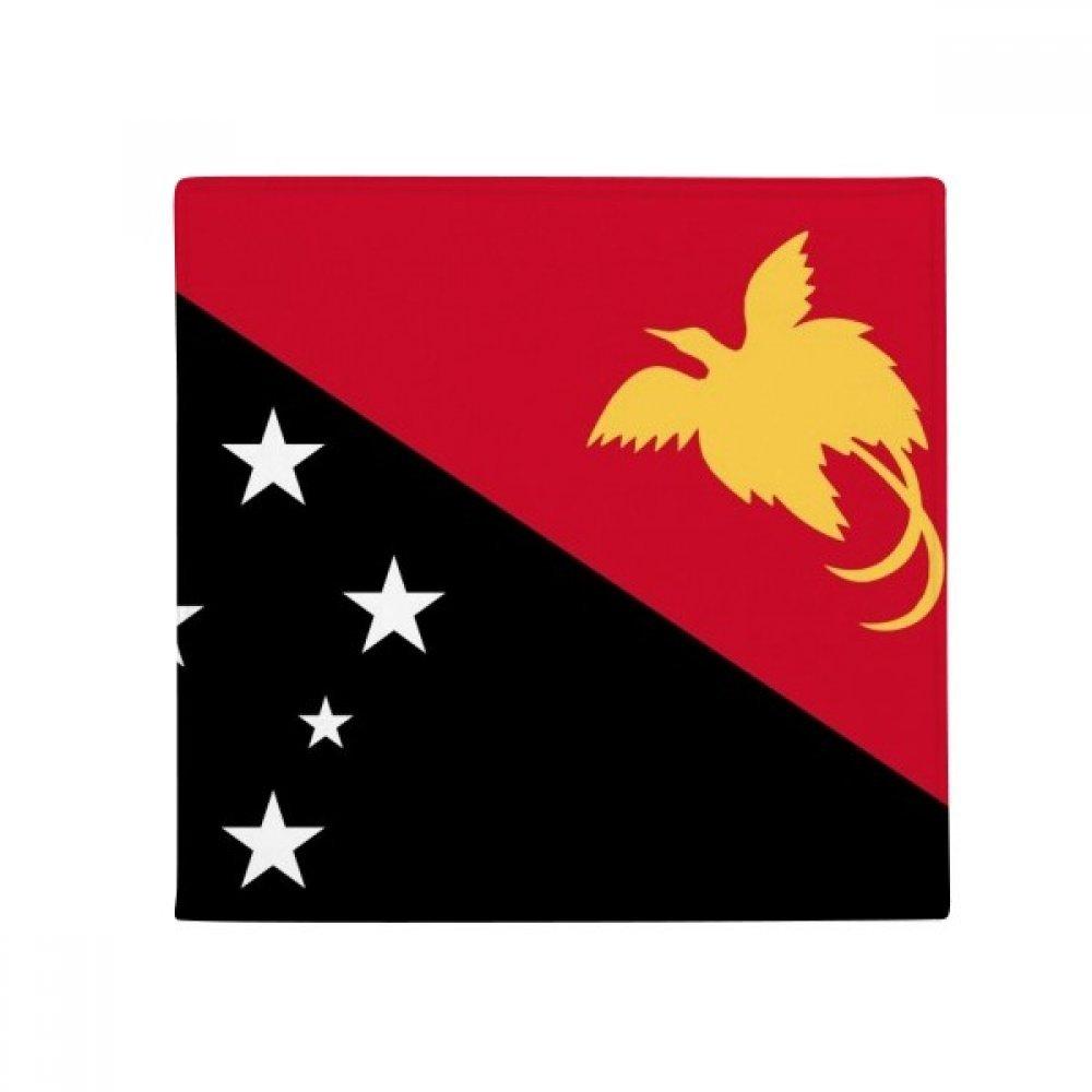 DIYthinker Papua New Guinea National Flag Oceania Country Anti-Slip Floor Pet Mat Square Home Kitchen Door 80Cm Gift