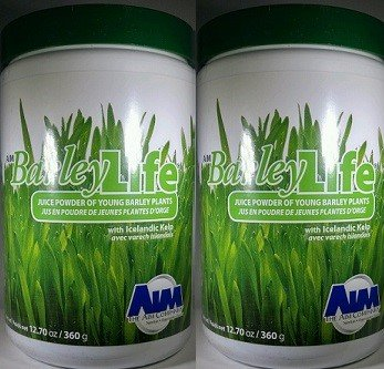 AIM BarleyLife - Family Size (12.7 oz) Barley Grass Powder (2) by AIM International (Image #2)