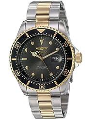 Invicta Mens 22057 Pro Diver Quartz Stainless Steel Two Tone Bracelet Watch