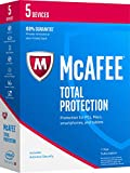 Software : McAfee 2017 Total Protection-5 Devices [Key Code]