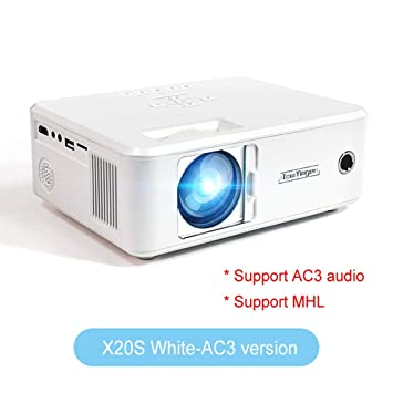 WHLDCD Proyector Mini proyector LED Full HD 1080P Video ...