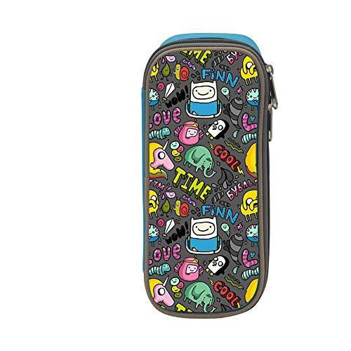 bagshome Big Capacity Canvas Key Box Portable for Children,Print Cool Cartoon Blue