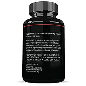 Prime Labs Men's Testosterone Booster (60 Caplets) - Natural Stamina, Endurance and Strength Booster - Fortifies Metabolism - Promotes Healthy Weight Loss and Fat Burning natural male testosterone booster - 51wCeJobzbL - natural male testosterone booster