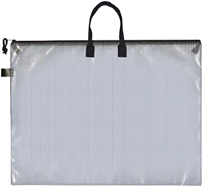 Pro Art Mesh/Vinyl Bag with Handle and Zipper, 19 by 25-Inch by Pro Art