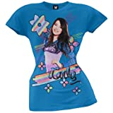 iCarly - Rainbow Stripe Girls Youth T-Shirt