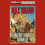 Ronicky Doone's Reward: Doone #2   Max Brand