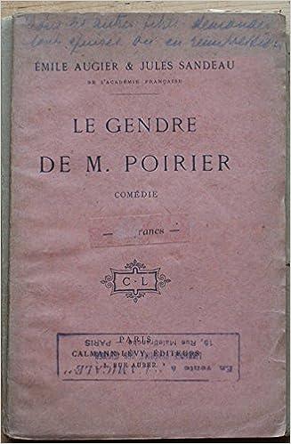 POIRIER MONSIEUR DE LE TÉLÉCHARGER GENDRE