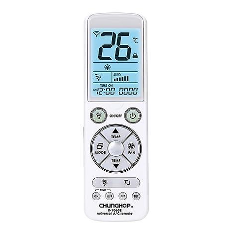Richgv Mando a Distancia de Repuesto Universal Compatible con Aire Acondicionado AC2