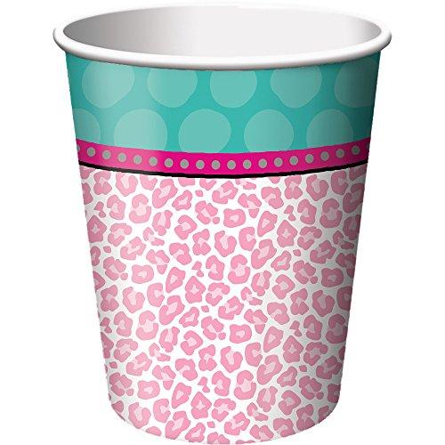 Creative Converting Spa Party Cups, Multicolor