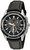 Citizen Men's Eco-Drive Signature Chronograph Watch with Date and Alarm, BL5500-07E