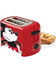 Disney Classic Mickey Mouse Toaster Two Slice Wide Slots Kitchen Electric