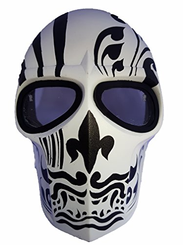 (Invader King Army of Two Airsoft Mask Protective Gear Outdoor Sport Fancy Party Ghost Masks Bb)