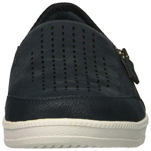 Street Smart Sneaker Ave Women's Skechers Nvy Madison qHaSg